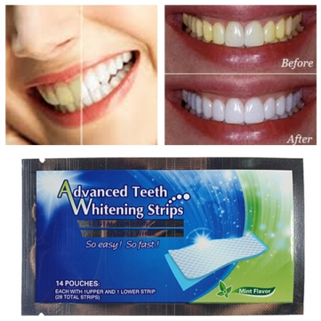 Teeth Whitening Strips Home Dental Bleaching Whiter